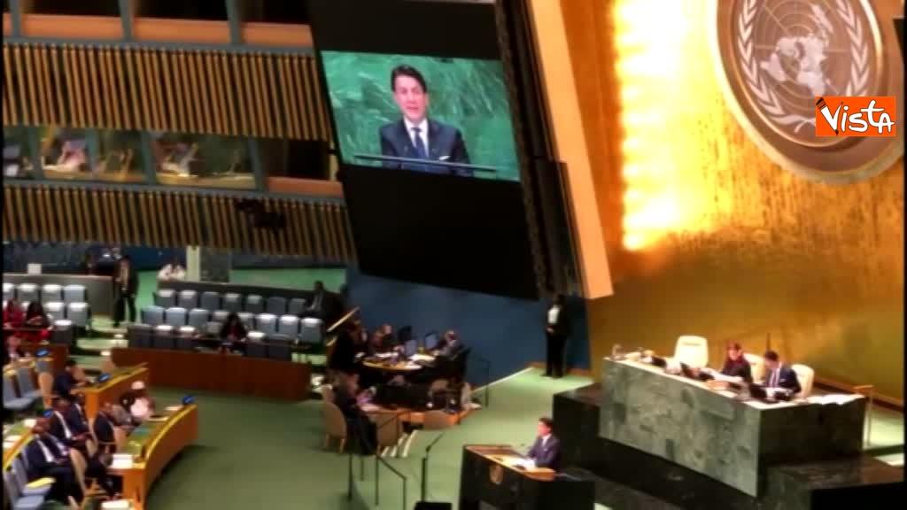 Il premier Conte interviene all'Assemblea Generale delle Nazioni Unite_03