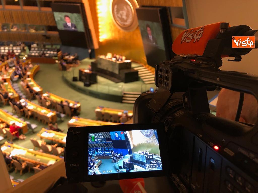 Il premier Conte interviene all'Assemblea Generale delle Nazioni Unite_10