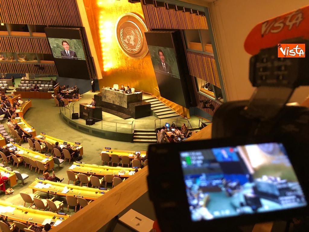 Il premier Conte interviene all'Assemblea Generale delle Nazioni Unite_08