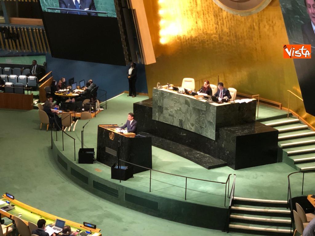 Il premier Conte interviene all'Assemblea Generale delle Nazioni Unite_14