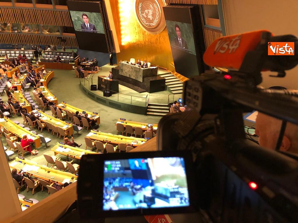 Il premier Conte interviene all'Assemblea Generale delle Nazioni Unite_11