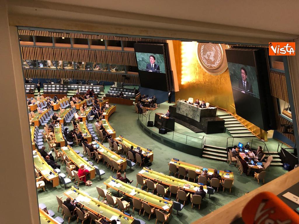 Il premier Conte interviene all'Assemblea Generale delle Nazioni Unite_18