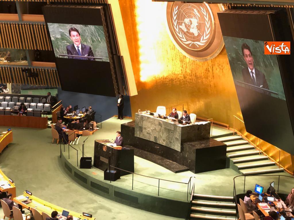 Il premier Conte interviene all'Assemblea Generale delle Nazioni Unite_09