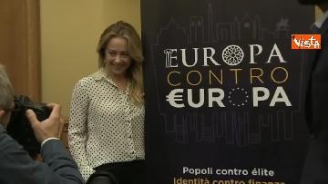 4 - Meloni presenta Atreju 2018, la 21esima edizione dal titolo ''Europa contro Europa''