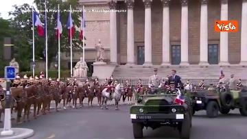 3 - La parata per la Festa Nazionale francese, le immagini