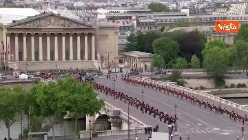 4 - La parata per la Festa Nazionale francese, le immagini