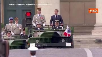 5 - La parata per la Festa Nazionale francese, le immagini