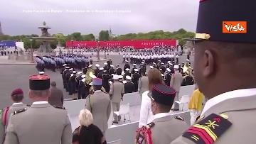 14 - La parata per la Festa Nazionale francese, le immagini