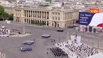 10 - La parata per la Festa Nazionale francese, le immagini