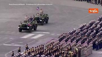 6 - La parata per la Festa Nazionale francese, le immagini