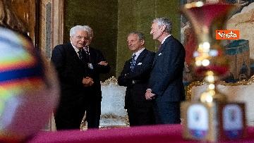 1 - Mattarella riceve Atalanta e Lazio, finaliste Coppa Italia