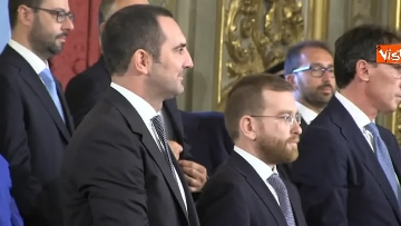 1 - Il giuramento del Ministro dello Sport Vincenzo Spadafora