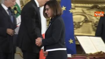 1 - Il giuramento del Ministro dei Trasporti Paola De Micheli