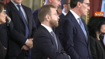 1 - Il giuramento del Ministro per il Sud Giuseppe Provenzano