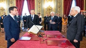 1 - Il giuramento del Presidente del Consiglio Giuseppe Conte