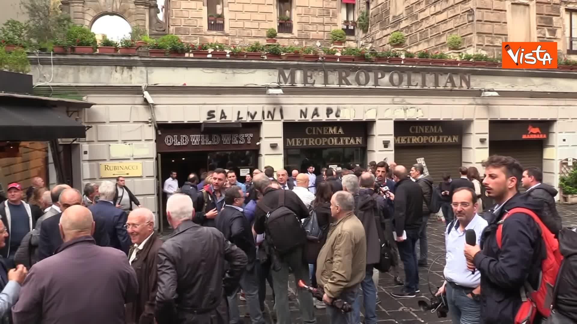 05-11-19 Salvini presenta la campagna elettorale in Campania, le immagini