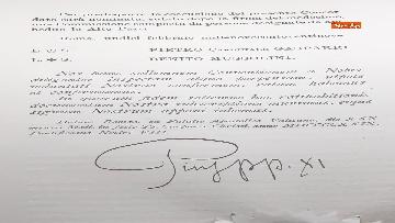 1 - Il presidente Mattarella partecipa alla cerimonia per ricorrenza della firma dei Patti Lateranensi
