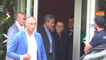 3 - Berlusconi lascia il San Raffaele