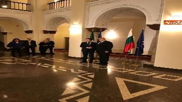 3 - Conte in visita a Sofia viene accolto dal primo ministro bulgaro Borissov