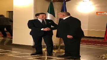 5 - Conte in visita a Sofia viene accolto dal primo ministro bulgaro Borissov