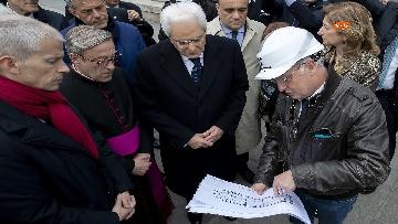 6 - Mattarella visita la Cattedrale di Notre-Dame a Parigi