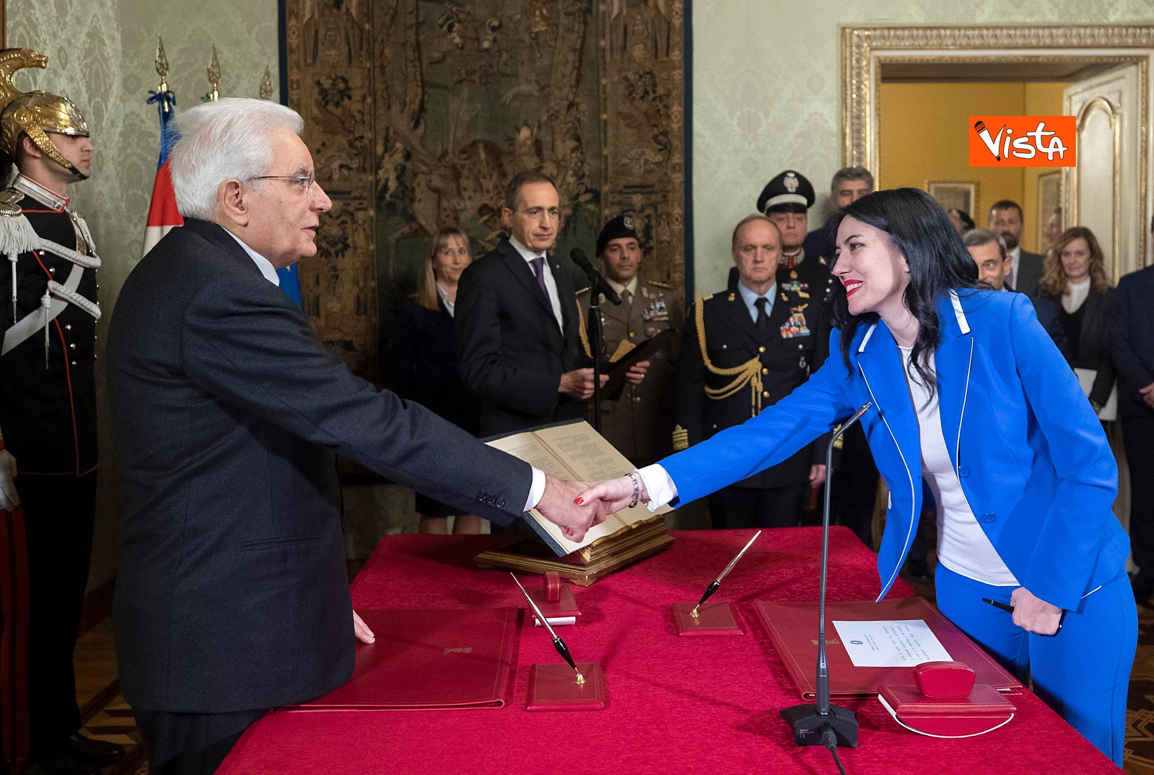 10-01-20 Il giuramento del neo Ministro dell'Istruzione Lucia Azzolina_02