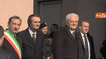 2 - Il presidente della Repubblica Mattarella all'inaugurazione della XXII Triennale di Milano