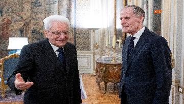 2 - Mattarella incontra l'ambasciatore francese Masset al Quirinale