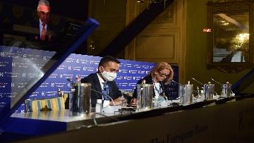 1 - Forum Ambrosetti di Cernobbio, le immagini del Ministro Di Maio a  Villa d'Este