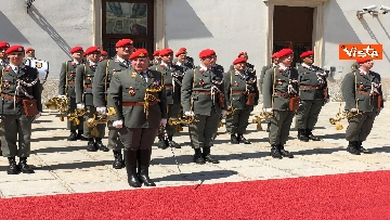 9 - Il Presidente della Repubblica Mattarella alla Hofburg di Vienna