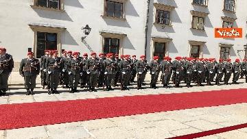 8 - Il Presidente della Repubblica Mattarella alla Hofburg di Vienna
