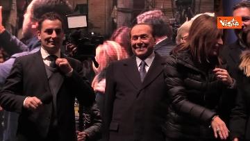 6 - Salvini, Meloni e Berlusconi chiudono la campagna elettorale in Emilia-Romagna a Ravenna, le immagini