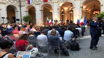1 - La conferenza stampa congiunta di Putin e Conte
