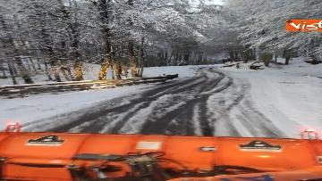 5 - Maltempo ed emergenza neve Anas in azione per garantire la viabilita