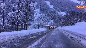 1 - Maltempo ed emergenza neve Anas in azione per garantire la viabilita