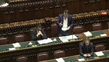 3 - Di Maio e Salvini al Question Time alla Camera dei Deputati