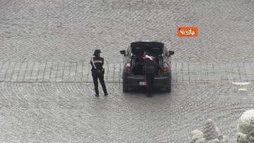 8 - Pasquetta in zona rossa a Roma, controlli a tappeto e piazze semivuote in centro