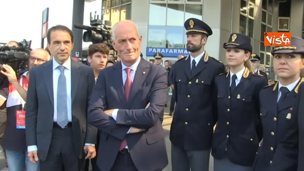 05-08-19 Hub Milano Rogoredo Fs presenta potenziamento con Battisti Toninelli Salvini_Il Capo della Polizia Franco Gabrielli 03