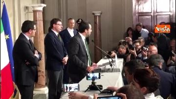 1 - Salvini al Quirinale dopo le consultazioni immagini