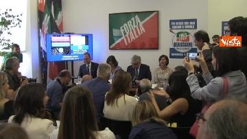 2 - Conferenza stampa Fi su dl dignita', le immagini