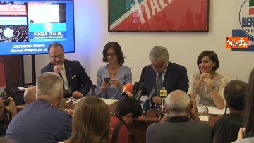 8 - Conferenza stampa Fi su dl dignita', le immagini