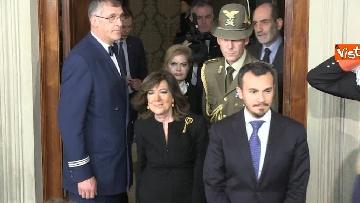5 - Casellati a margine del colloquio con Mattarella immagini