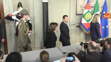 7 - Casellati a margine del colloquio con Mattarella immagini