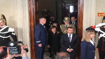 10 - Casellati a margine del colloquio con Mattarella immagini