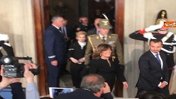 11 - Casellati a margine del colloquio con Mattarella immagini
