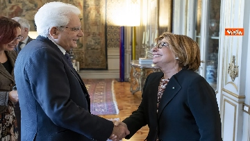 1 - Mattarella incontra delegazione ANCI Piccoli Comuni