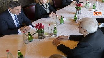 4 - Mattarella incontra il Presidente della Repubblica di Slovenia, Borut Pahor