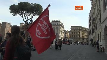 12 - Giornata mondiale del teatro, le foto della protesta davanti al Teatro Argentina a Roma