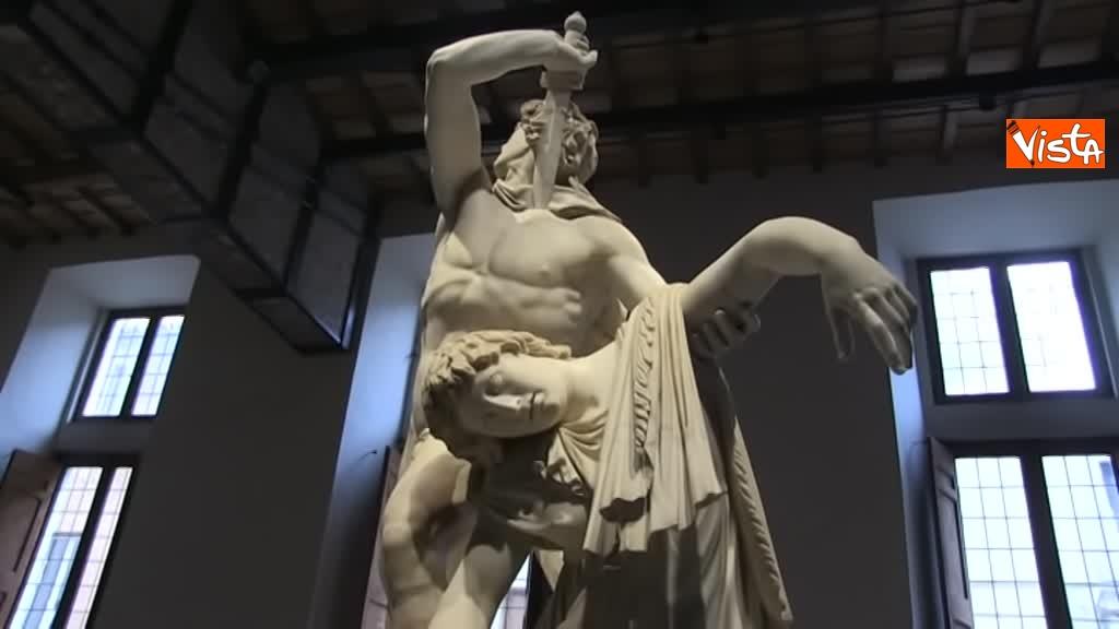 05-03-19 Bonisoli visita le meraviglie di Palazzo Altemps a Roma_10