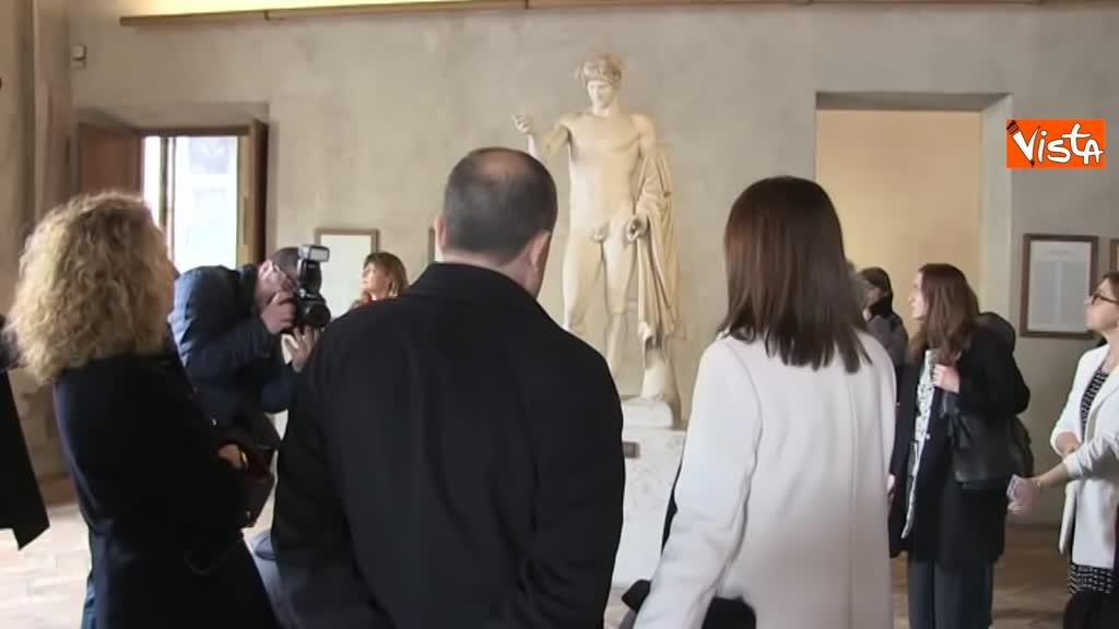 05-03-19 Bonisoli visita le meraviglie di Palazzo Altemps a Roma_04